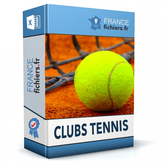 Fichier Clubs de Tennis France