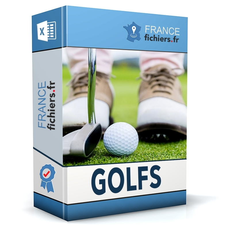 Fichier Golfs France