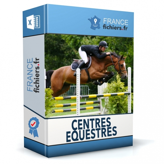 Fichier Centres Equestres France