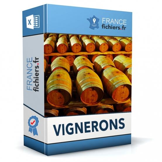 Fichier Vignerons et Viticulteurs France