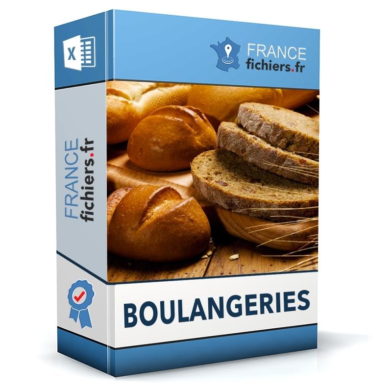 Fichier Boulangeries France