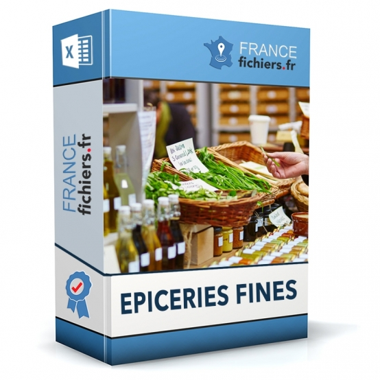 Fichier Epiceries Fines France