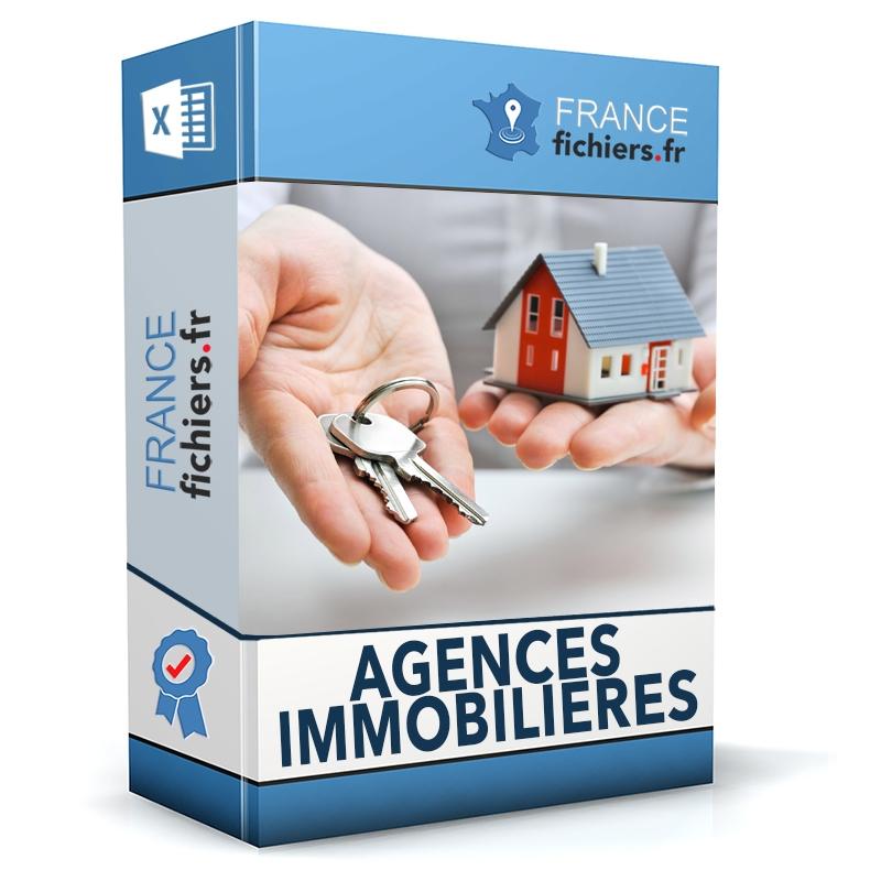 Fichier Agences Immobilières France