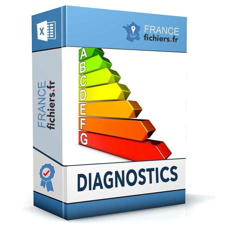 Fichier sociétés de diagnostics France