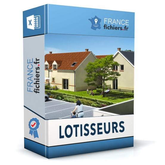 Fichier Lotisseurs France