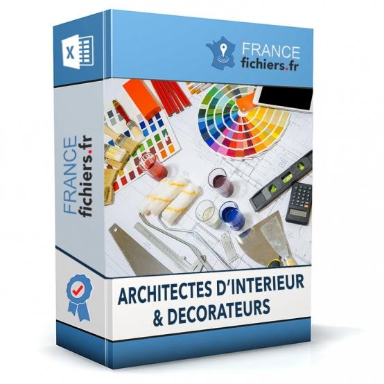 Fichier Architectes d'intérieur France