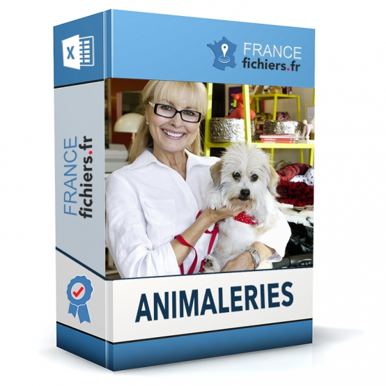 Fichier Animaleries France