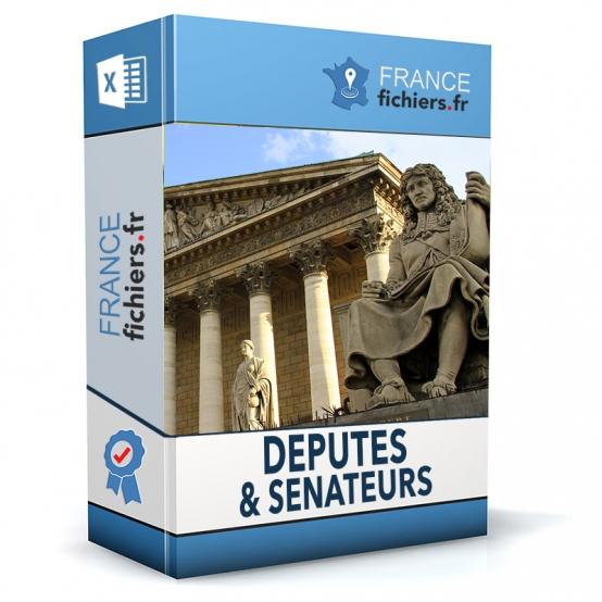 Fichier des députés et sénateurs de France