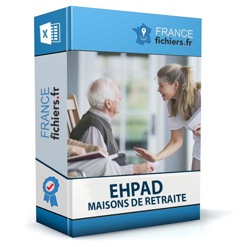 Fichier des Ehpad - Maisons de retraite