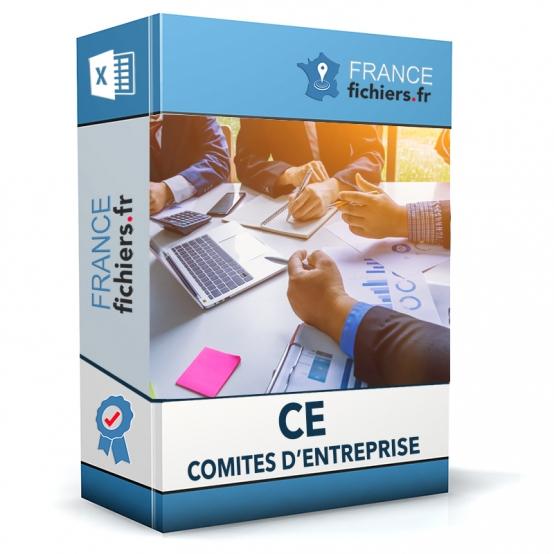 Fichier des CE - Comités d'entreprise