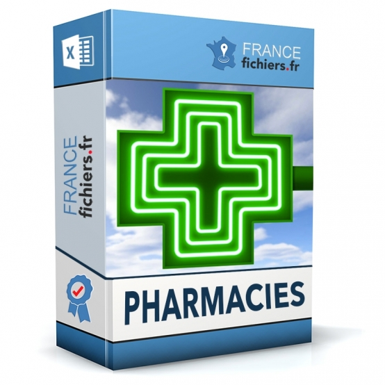 Fichier Pharmacies France