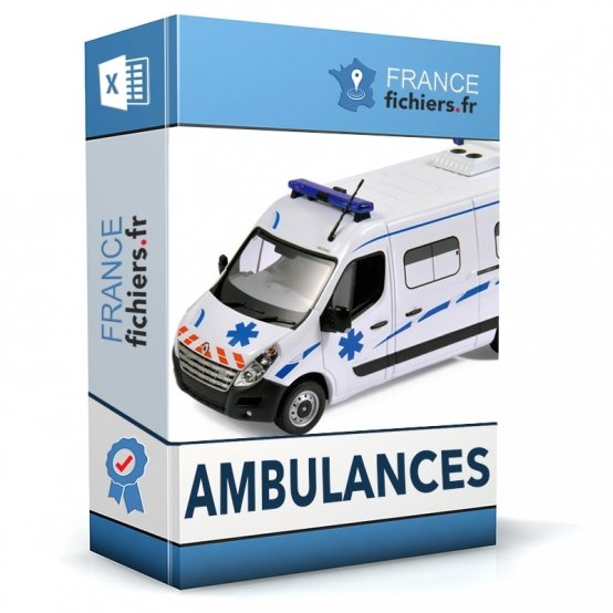 Fichier Ambulanciers France