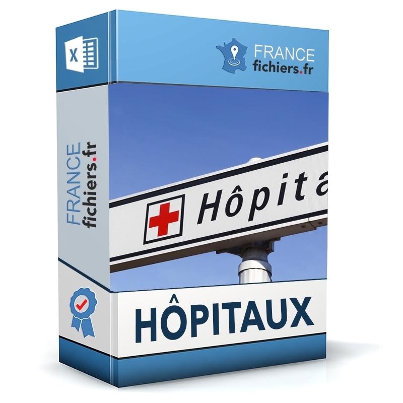 Fichier Hôpitaux France