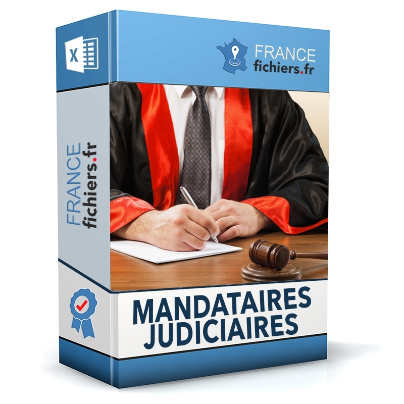 Fichier Mandataires Judiciaires France