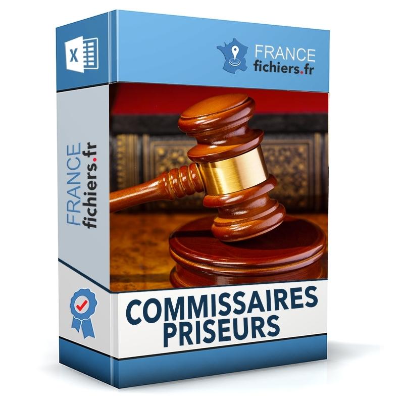 Fichier Commissaires Priseurs France