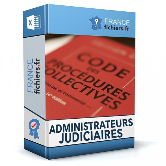 Fichier Administrateurs Judiciaires France