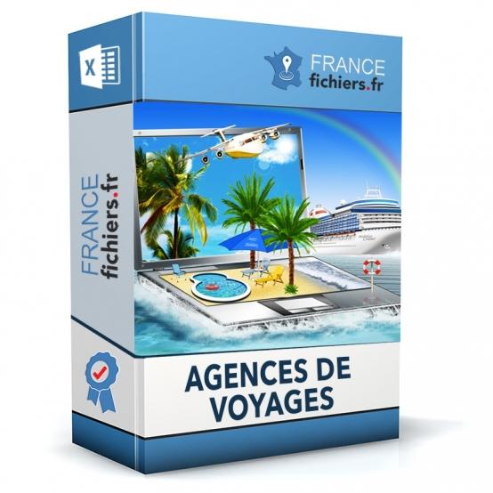 Fichier Agences de voyages France
