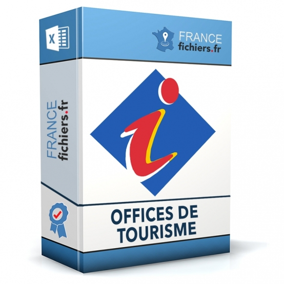 Fichier Offices de Tourisme France