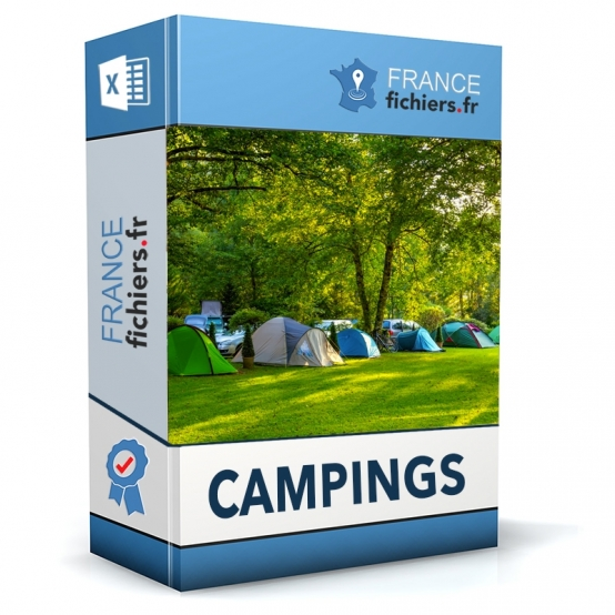 Fichier Campings France