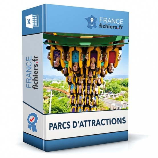 Fichier Parcs d'Attractions France