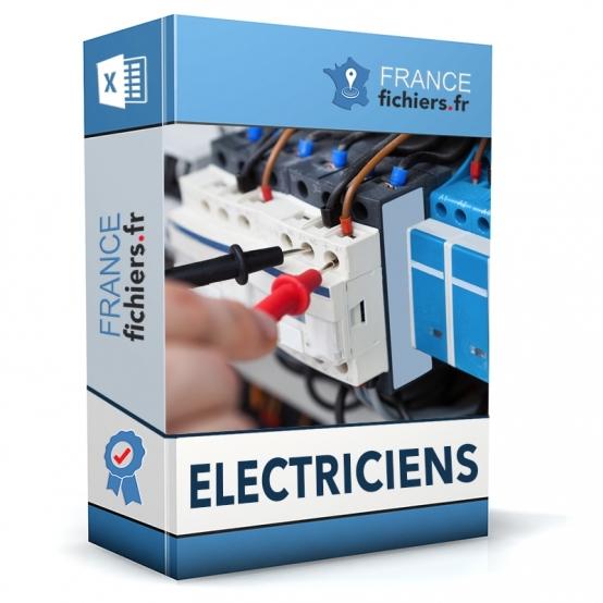 Fichier Electriciens France