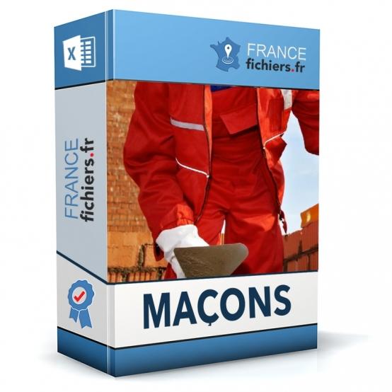 Fichier entreprises de maçonnerie France
