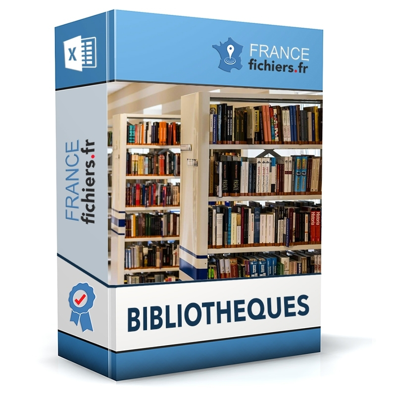 Fichier Bibliothèques France