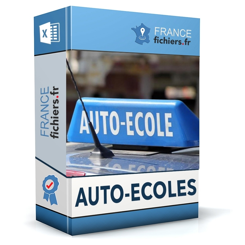 Fichier Auto-écoles France