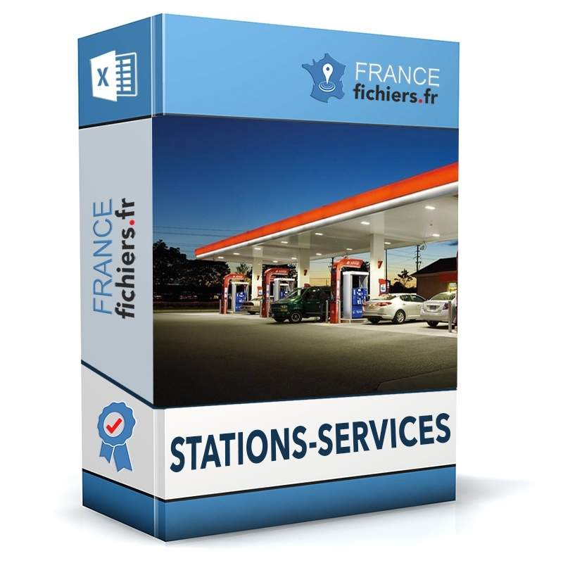 Fichier Stations-services France