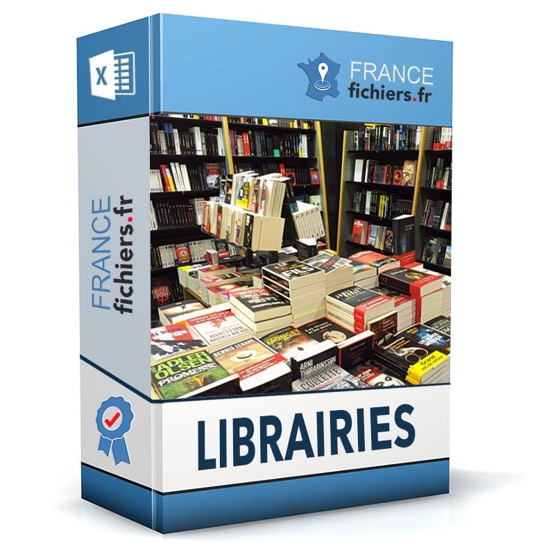 Fichier Librairies France