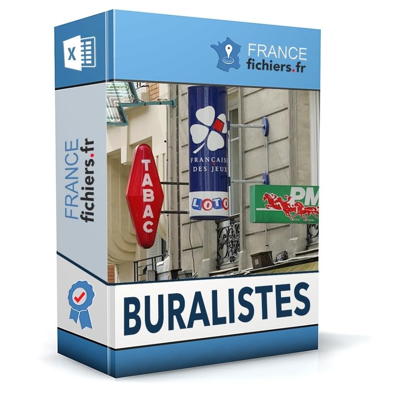 Fichier Buralistes France