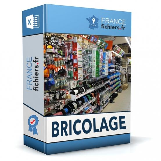 Fichier Magasins de Bricolage France