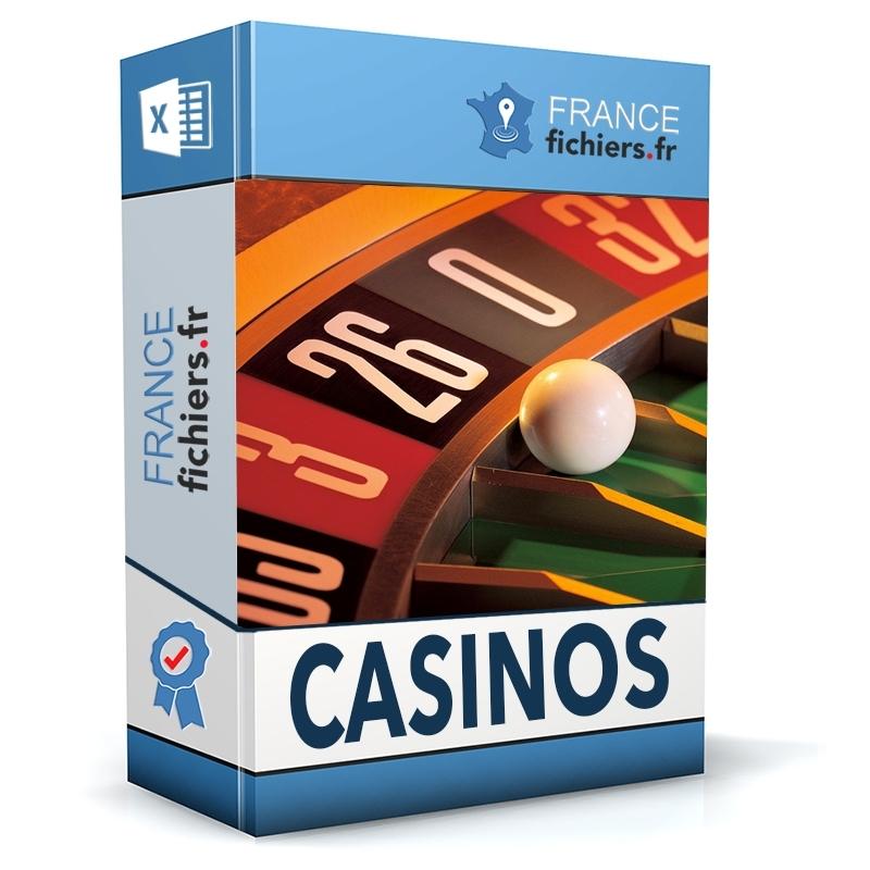 Fichier Casinos France