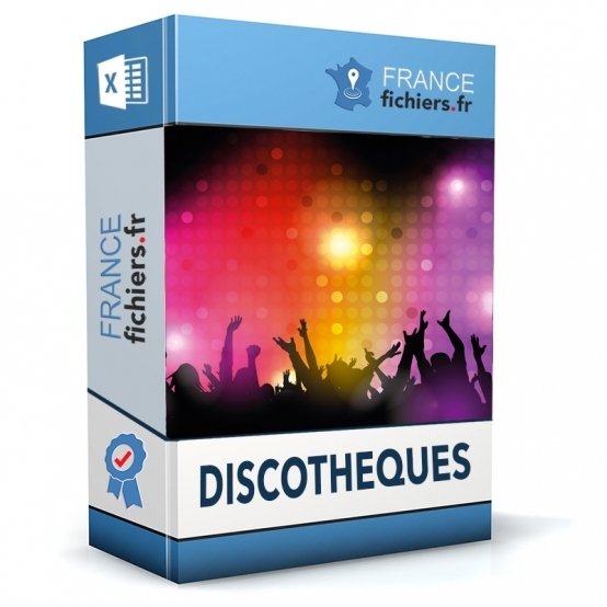 Fichier Discothèques France