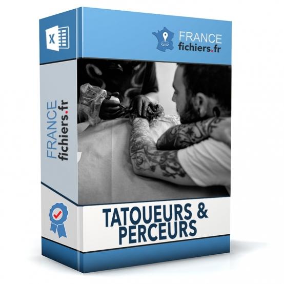 Fichier Tatoueurs et Perceurs France